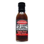 Dad's Grilling BBQ Sauce- Danger