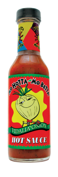 Mo Hotta Mo Betta Vidalia(TM) Onion Hot Sauce
