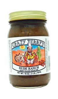 Crazy's Jerry Dude Ranch Black Bean Dip