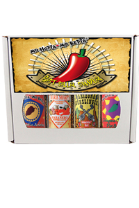 The Best Seller Hot Sauce 4 pack