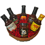 Bestest BBQ Sauces Gift Basket