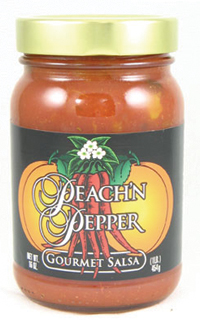 Peach N' Pepper Salsa