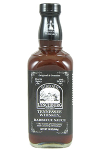 Historic Lynchburg Tennessee Whiskey Hot & Spicy BBQ Sauce - 100 Proof