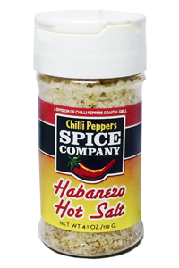 Chilli Peppers Habanero Hot Salt