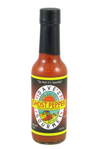 Dave's Ghost Pepper Naga Jolokia Hot Sauce