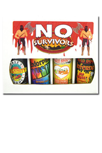 No Survivors Hot Sauce Gift Set