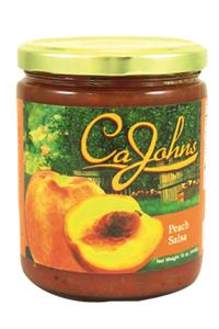 CaJohns Peach Salsa