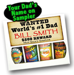 Dad Personalized Sampler Gift Set