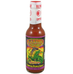Iguana Tropic Thunder Red Jalapeno and Habanero Tropical Pepper Sauce