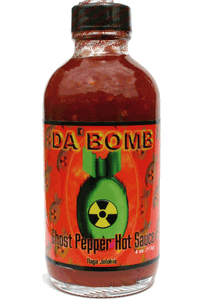 All Hot Sauces - Da Bomb Ghost Pepper Hot Sauce