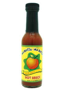 Mo Hotta Mo Betta Vidalia Onion & Peach Hot Sauce