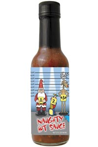 Naughty Police Lineup Hot Sauce
