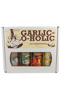 Garlic-O-Holic Hot Sauce Gift Set