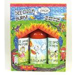 See Dick Burn Hot Sauce Gift Box