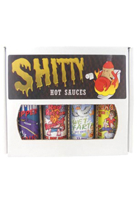 Shitty Hot Sauce Gift Pack