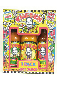 The Cheech 3 Hot Sauce Gift Set