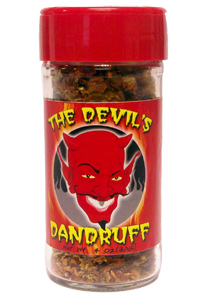 Devil's Dandruff Jolokia Ghost Pepper Flakes