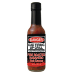 Danger Dad Fire Roasted Habanero Hot Sauce