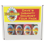 Dave's Insanity Gourmet Four Pack Gift Set
