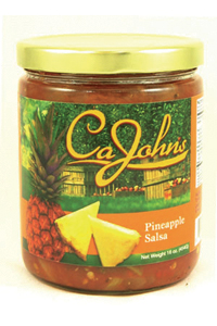 CaJohns Pineapple Gourmet Salsa