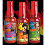 The Three Stooges- All Three Hot Sauces