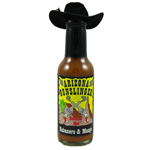 Arizona Gunslinger Habanero Mango Hot Sauce with Hat