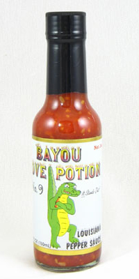 Bayou Love Potion Number 9 Louisiana Peppa Sauce