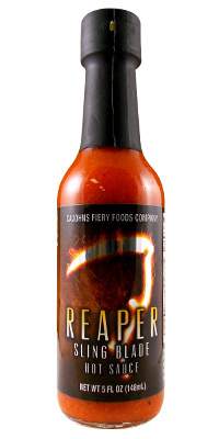 CaJohn's Reaper Sling Blade Hot Sauce