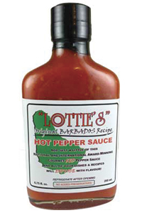 Lottie's Original Barbados Red Hot Pepper Sauce