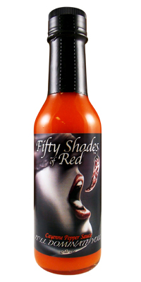Fifty Shades of Red Cayenne Pepper Sauce
