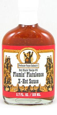 Flamin' Flatulence X-Hot Sauce