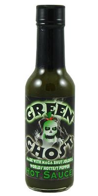 Green Ghost Hot Sauce