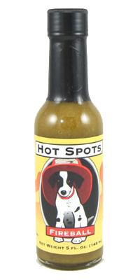 Hot Spots Fireball Hot Sauce