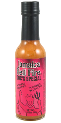 Jamaica Hell Fire Doc's Special Hot Sauce