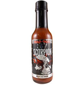 Mad Dog 357 Scorpion Hot Sauce