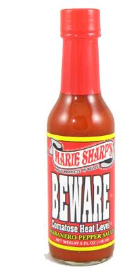 Marie Sharp's Beware Comatose Hot Sauce 5 fl.oz.