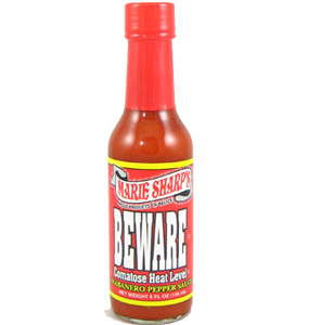 Marie Sharp's Beware Comatose Hot Sauce 5 fl.oz.