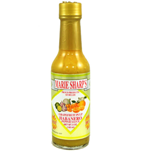 Marie Sharp's Grapefruit Pulp Habanero Hot Sauce