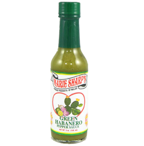 Marie Sharp's Green Habanero Hot Sauce with Prickly Pears 5 fl.oz.