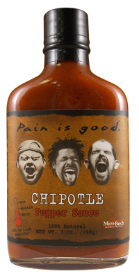 Most Wanted Pain is Good Chipotle Hot Sauce