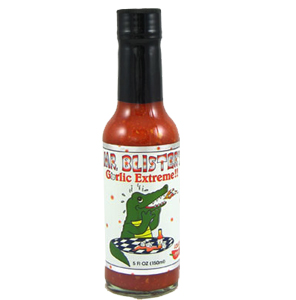 Mr. Blister's Garlic Extreme Hot Sauce
