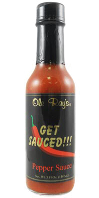 Ole Ray's Get Sauced Hot Sauce