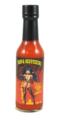 Pain and Suffering Hurts So Bad Hot Sauce