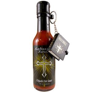 Salvation Sauce Chipotle Hot Sauce