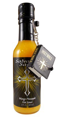 Danny Cash's Salvation Mango Pineapple Hot Sauce