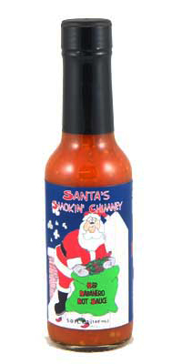 Santa's Smokin' Chimney Red Habanero Hot Sauce