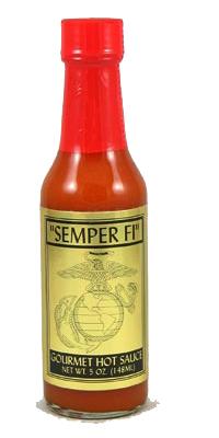 Semper Fi Habanero Marine Corps Hot Sauce