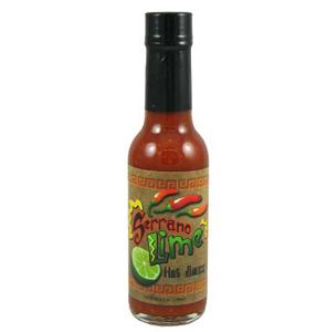 Serrano Lime Hot Sauce