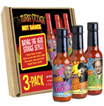The Three Stooges- Hot Sauce Gift Pack