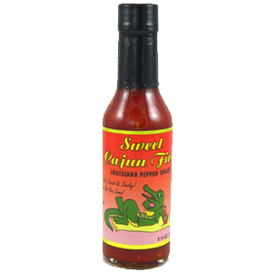 Sweet Cajun Fire Hot Sauce